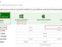 Node.js Windows安装及环境配置详细图文教程